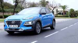 All-New Hyundai Kona Hybrid Driving Video [Video]