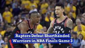 The Raptors Won Game 3 And It's A Battle [Video]