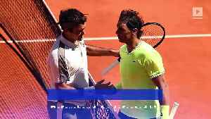 Rafael Nadal Ousts Roger Federer in French Open Semifinal [Video]