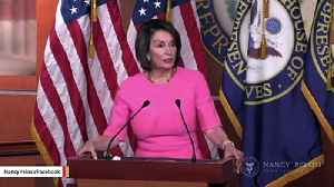 News video: Trump Attacks Pelosi Over Reported 'Prison' Comment: She's A 'Disgrace' To Her Family