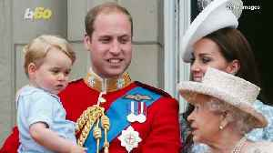 Royals' First Time Attending Trooping the Colour [Video]