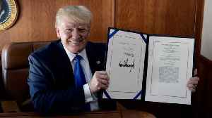 President Trump Signs Disaster Relief Bill After Multiple Delays [Video]