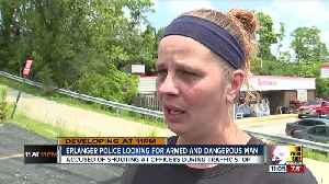 Armed and dangerous man who shot at officers still at large in Erlanger [Video]