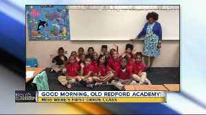 Kevin's Classroom: Old Redford Academy Miss Webb's first grade class [Video]