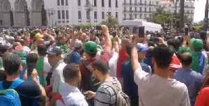 Crowds in Algiers Call for Interim President to Step Down [Video]