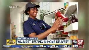 Walmart to deliver groceries inside your fridge when you're not home [Video]