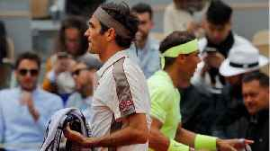 Nadal beats Federer, will go for 12th French title [Video]