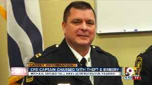 'Very tough day' for Cincinnati Police as captain charged with bribery, theft [Video]