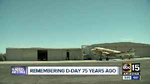 World War Two aircraft takes flight over Phoenix on 75th anniversary of D-Day [Video]