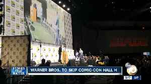 Warner Bros. to skip Comic-Con Hall H [Video]