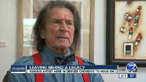 After 40 years, world renowned artist moving from Denver [Video]