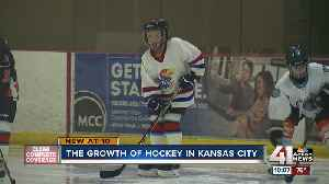 Hockey continues to grow in Kansas City [Video]
