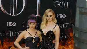 Sophie Turner & Maisie Williams pretended to be lesbian lovers on 'Game of Thrones' set [Video]