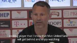 Giggs praises 'fantastic player' Daniel James ahead of Manchester United transfer [Video]