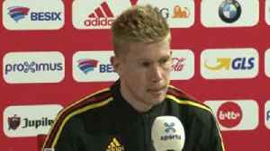 De Bruyne: England can't play like City [Video]