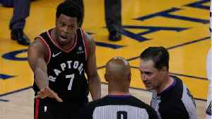 Kyle Lowry Explains How He Kept His Cool After Mark Stevens Shoved Him [Video]