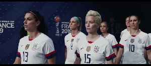 News video: Women's World Cup Soccer - All Eyes Are on The USA