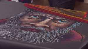 Chalk Artist Previews This Weekend's 'Chalkfest' [Video]