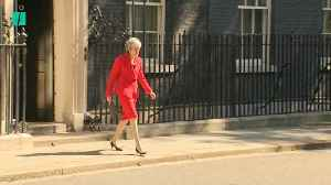 Theresa May Steps Down As Tory Leader… Kind Of [Video]