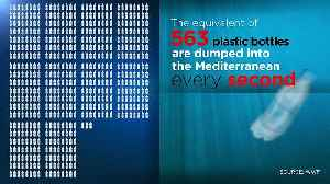 This is how much plastic is thrown into the Mediterranean Sea every second [Video]