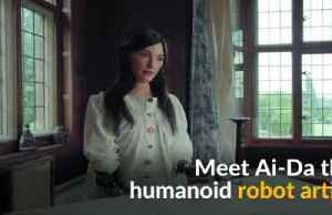 World's first ultra-realistic humanoid robot artist preps for solo show [Video]