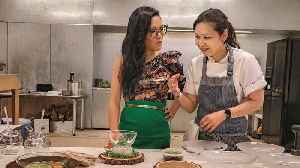 Ali Wong Talks Working With Chef Niki Nakayama For 'Always Be My Maybe' | THR News [Video]
