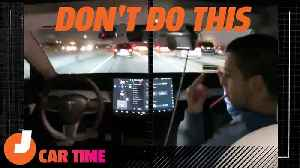 Don't Be Like This Tesla Auto-Pilot Idiot | Car Time [Video]