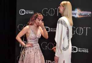 Sophie Turner and Maisie Williams 'tried to kiss each other' on Game of Thrones set [Video]