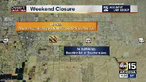 Weekend traffic: Traffic restrictions for June 7-9 [Video]