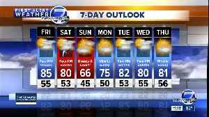 Friday 11 a.m. weather forecast [Video]