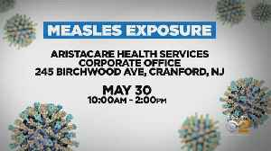 Possible Measles Exposure In Union County [Video]