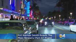 South Beach Tops Poll Of Most Stressful Locations In Miami, Study Finds [Video]
