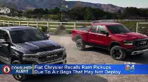 Fiat Chrysler Recalls Millions Of Vehicles [Video]