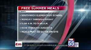 EACS serving up free lunches for kids this summer [Video]