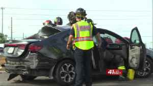 Severe crash in Peach County injures two people [Video]