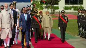 Guard of honour to PM Narendra Modi in Maldives | Oneindia News [Video]