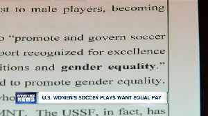 News video: U.S. women soccer players in midst of equal pay fight