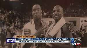 Dunbar Basketball Coach Keith Booth Reflects on Playing in the NBA Finals [Video]