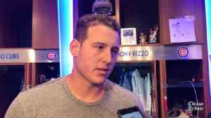 Anthony Rizzo on getting thrown out at home against the Cardinals: 'I messed up there' [Video]