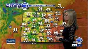 Isolated showers and storms rolling through the Front Range [Video]