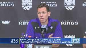 New Complaint Added To Lawsuit Against Sacramento Kings Coach Walton [Video]