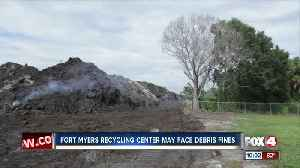 Company misses deadline to clear out Hurricane Irma debris at North Fort Myers dumping site [Video]