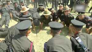 Officers celebrate after passing out parade at Indian Military Academy [Video]