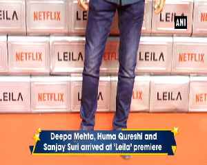 Bollywood celebrities attend special premiere of Netflix series Leila [Video]