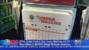 Winning Mega Millions Ticket Sold In San Diego [Video]