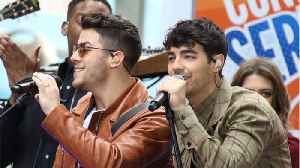 News video: Jonas Brothers' New Album Includes Love Songs To New Wives