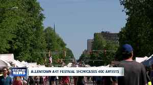 62nd annual Allentown Art Festival highlights hundreds of artists, including local Buffalo students [Video]