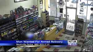 Starkville Police search for armed robber [Video]