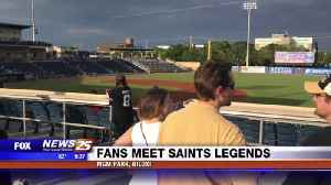 Saints Clinic and Autographs [Video]