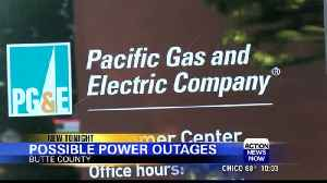 PG&E may shut off power in several North State counties Saturday [Video]
